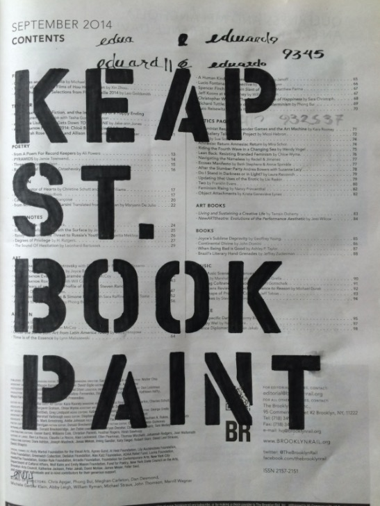 Keap Street Book Paint